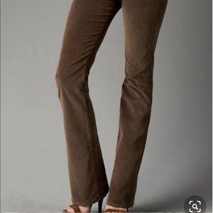 Citizens of humanity flare velvet jeans